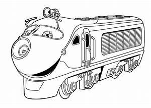 Chuggington coloring pages Koko for kids printable free