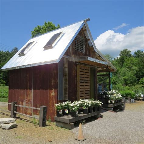Shed From Recycled Materials by Garden Shed Made From Pallets And Recycled Materials