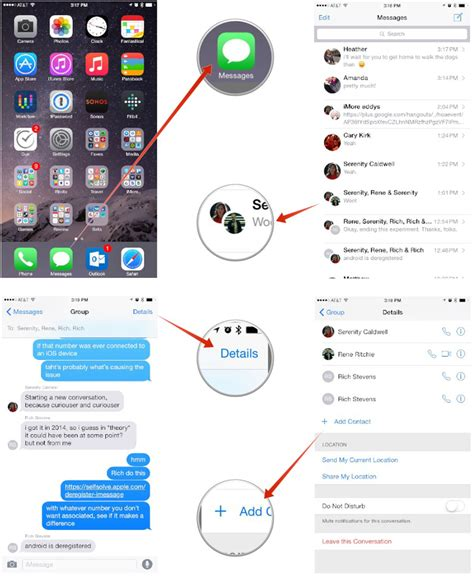 how to someones iphone how to add someone to a imessage thread on iphone