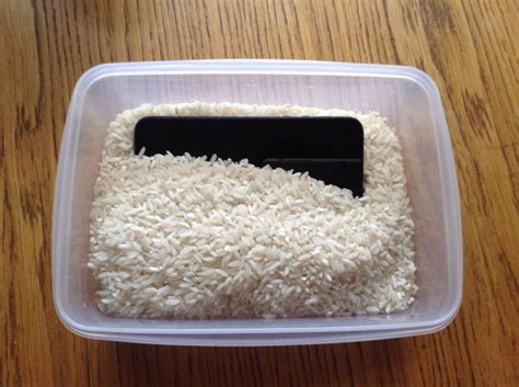 iphone in rice iphone water damage rescue a soaked device with rice