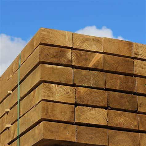 Softwood Sleepers by New Green Treated Softwood Sleeper Buy New Eco Treated
