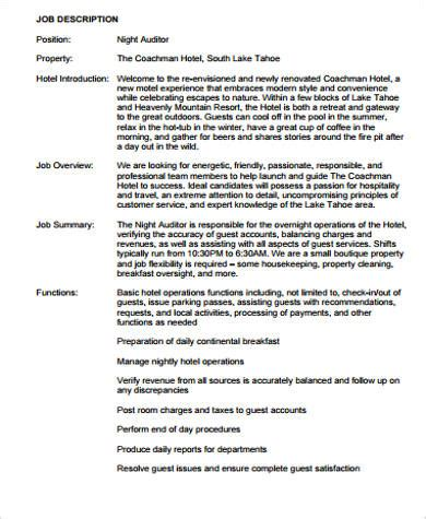 auditor description resume resume ideas
