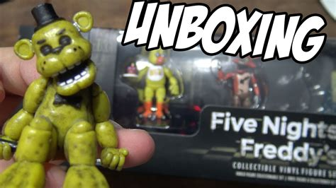 Five Nights At Freddy's Collectible Figure 4 Pack #1