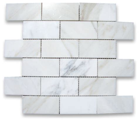 calcutta marble tile polished calcutta marble mosaic tile gold 12 quot x12 quot modern wall and floor tile by stone