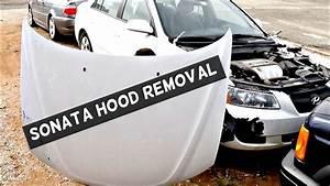 Hyundai Sonata Hood Removal Replacement 2005 2006 2007