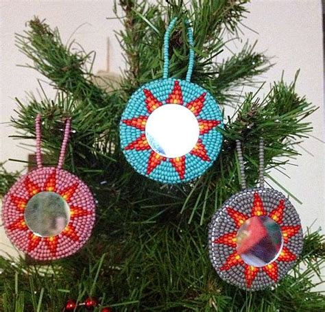 native christmas decorations images  pinterest