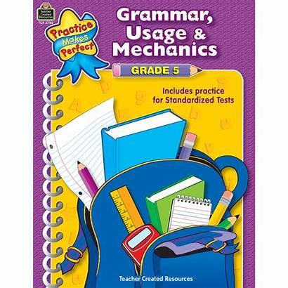 Grade Grammar Mechanics Usage 5th
