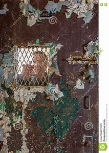 Locked Barred Door Inside Trans-Allegheny Lunatic Asylum ...