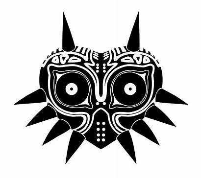 Mask Majoras Vector Zelda Legend Decal Majora