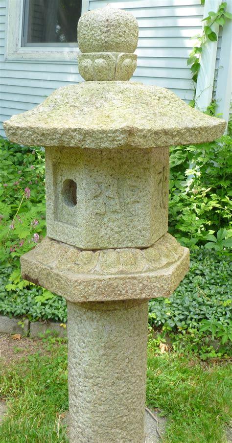japanese granite garden lantern at 1stdibs