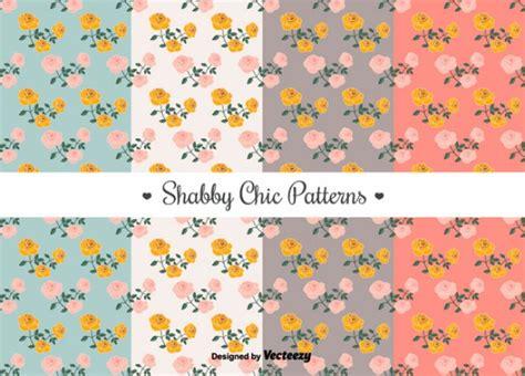 shabby fabrics patrones gratis patrones de shabby chic establecen descargar vectores gratis