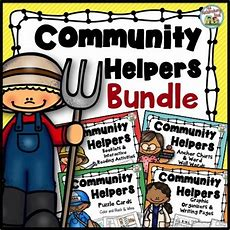 New Community Helpers Sets  Notebooking Nook