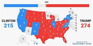 2016 Us Presidential Election Map | Autos Post