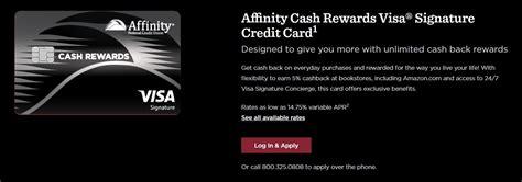 Download the rewards catalogue & redeem your points to avail maximum benefits. Affinity Cash Rewards Credit Card $200 Bonus + 5% Cashback at Bookstores & Amazon