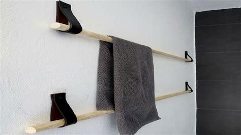 fabriquer  porte serviette sympa avec  euros deco cool