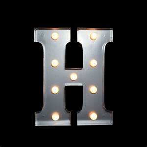 marquee light letter 39h39 led metal sign 10 inch battery With led letter sign
