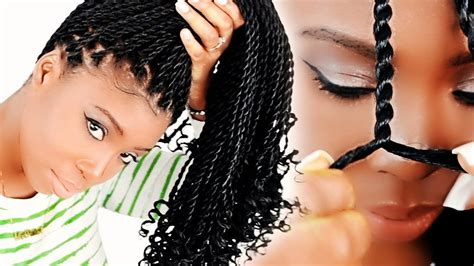 Different Hairstyles For Senegalese Twist by How To Senegalese Twists For Beginners Step By Step