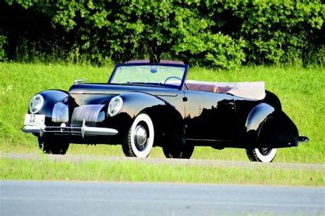 1939 Lincoln Zephyr Continental