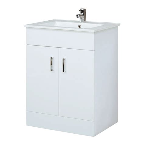 bathroom vanity cabinet storage bathroom vanity white gloss unit basin sink cabinet