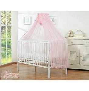 Ciel De Lit Berceau : ciel pour lit b b en promo moustiquaire rose pour fille ~ Teatrodelosmanantiales.com Idées de Décoration