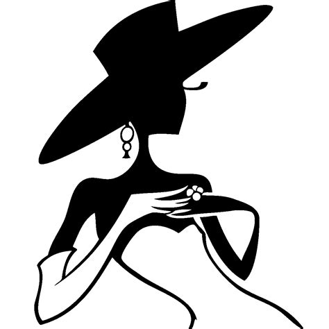 cuisine scandinave recettes stickers de silhouettes et personnages femme un chapeau