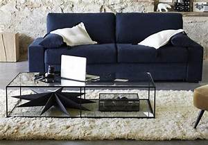 10 idees deco pour votre interieur cet automne With tapis berbere avec bout de canapé transparent