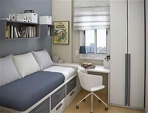 Petite Chambre Ado : como decorar quartos pequenos papo de design ~ Mglfilm.com Idées de Décoration