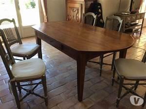 chaises paillees clasf With salle À manger contemporaineavec table de salle a manger ancienne