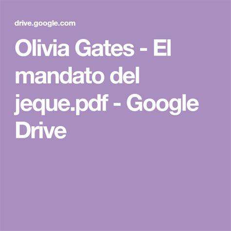 Casa del libro el fuego invisible. Olivia Gates - El mandato del jeque.pdf - Google Drive | Novelas romanticas libros, Novelas para ...