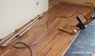 prefinished hardwood flooring installation home remodeling ideas