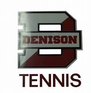 denison tennis car decal With kitchen cabinets lowes with college car stickers