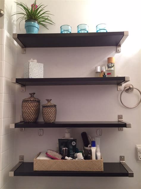 Small Wall Shelves Bathroom by Small Bathroom Solutions Ikea Shelves Bathroom