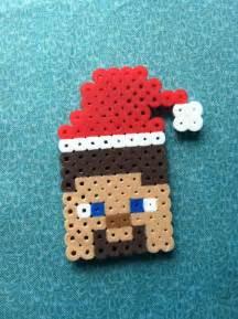 Minecraft Steve Perler Beads
