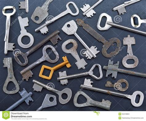 The Golden Key Stock Images