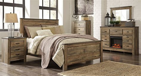 trinell panel bedroom set signature design  ashley