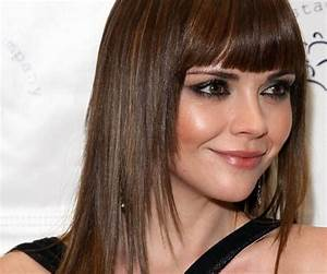 Fascinating Long Hairstyles For Round Faces Medium Hair