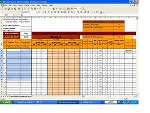 Employee attendance register template search results for School register template spreadsheet