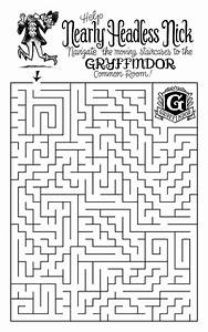 Another Amazing Maze To Solve Harry Potter And The Art