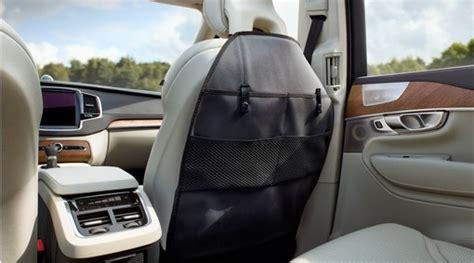 volvo seat  protection  storage pockets