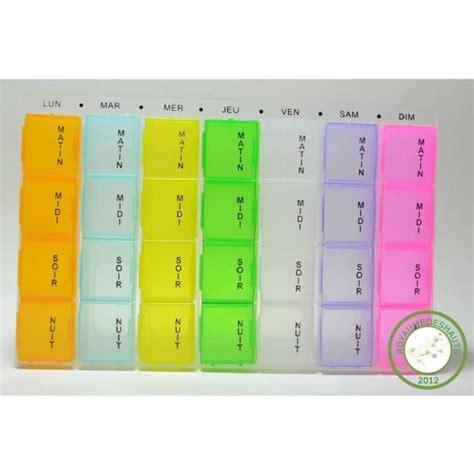boite pour ranger les medicaments pilulier bo 238 te 224 pilules plastique 7 jours fr achat vente pilulier pilulier bo 238 te 224