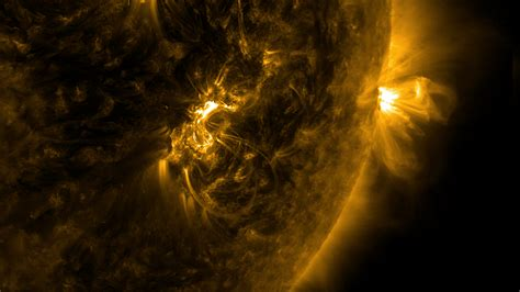 solar flares disrupted radio communications