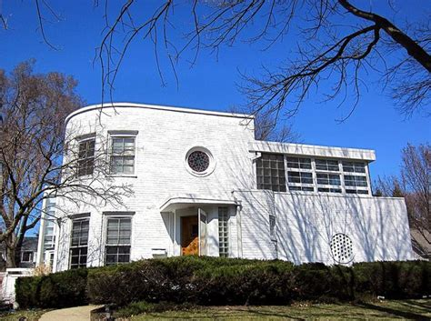 art moderne house chicago cool houses pinterest