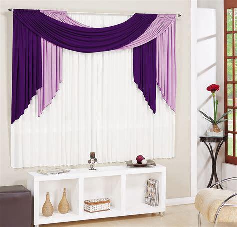 cuisinez de a à z cortina para sala e quarto roxo e lilás e branco 3 metros