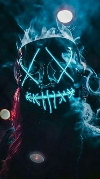 Mask Wallpapers Pantalla Fondo Purge Smoke Hacker