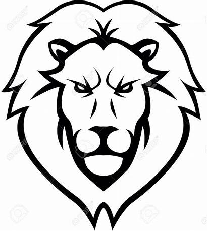 Lion Head Clipart Drawing Face Clipground Illustration