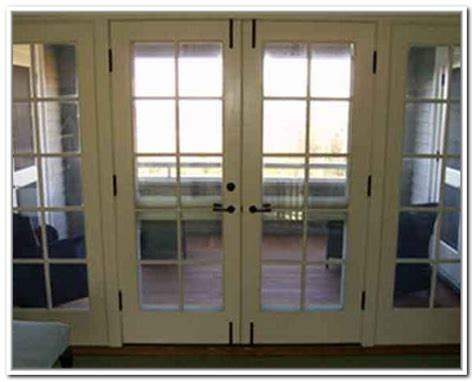 french doors exterior  side panels hawk haven