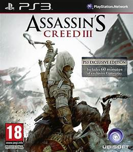 """Assassin's Creed III for PlayStation 3 has """"60 minutes of ..."""