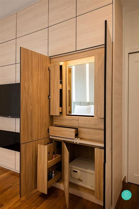 Beautiful Cupboard Design by Foldaway Homes For Who Need More Space Clever