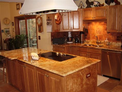 kitchen pictures with oak cabinets oak kitchen cabinets casual cottage 8395