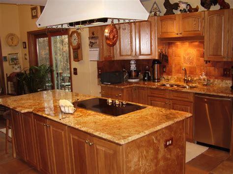 Oak Kitchen Cabinets  Casual Cottage